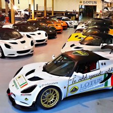 PB Racing receives engines from Lotus