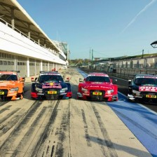 Molina (Audi) fastest in the DTM test