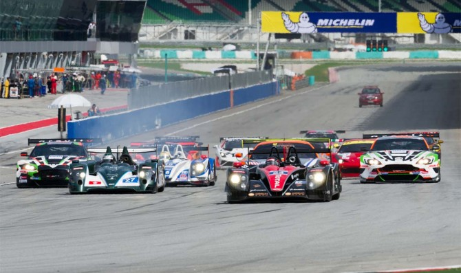 Asian Le Mans Series in three rounds