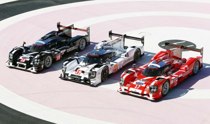 Porsche presented Le Mans Prototypes