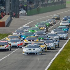 Record-breaking grid for Super Trofeo