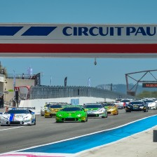 Record grid at Le Castellet