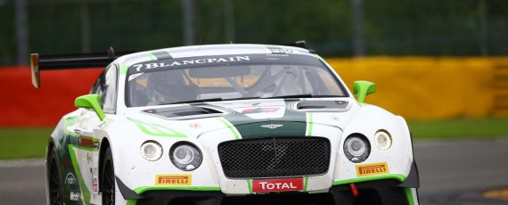 Bentley fastest at 24H Spa test