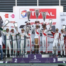 Audi takes its fourth win in 24H Spa