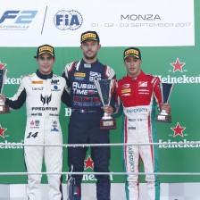 Ghiotto claims Monza sprint win