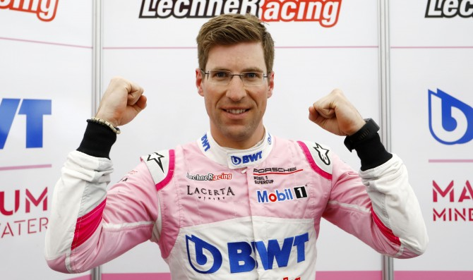 Ammermuller takes the first pole