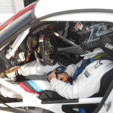 Zanardi completes his first test