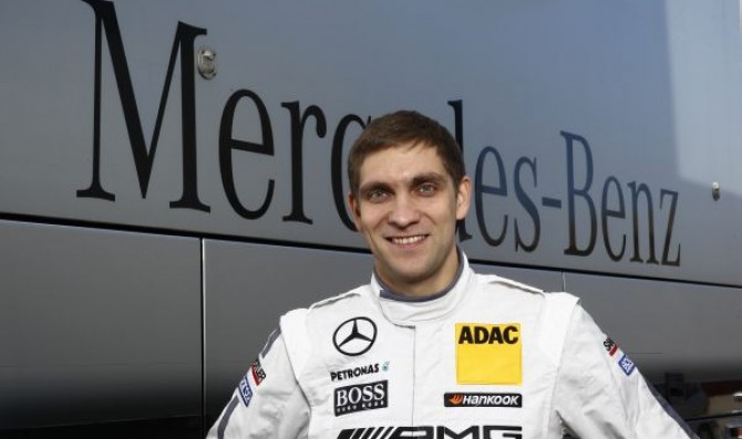 First DTM test for Petrov