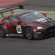 Abra and Poole with the Aston GT3 again