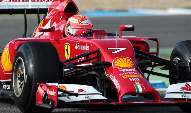 Raikkonen tops day 1 at Jerez