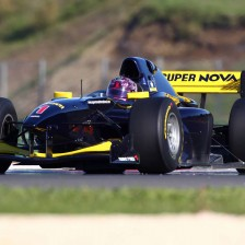 Michela Cerruti con Super Nova in Auto GP