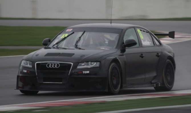 Austin's Audi enjoys maiden 2014 test