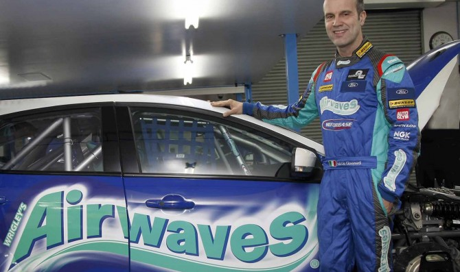 BTCC ace Giovanardi to race for Airwaves Race