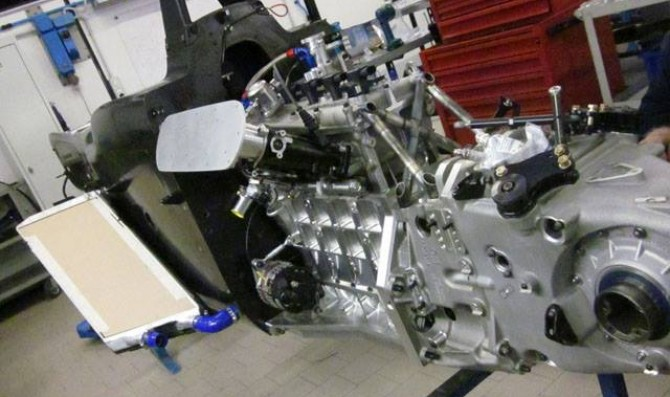 Renault by Oreca engine keeps on being tested