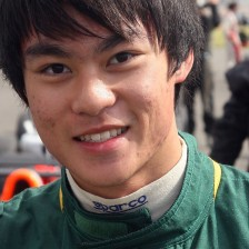 Caterham's Tan signs with Van Amersfoort