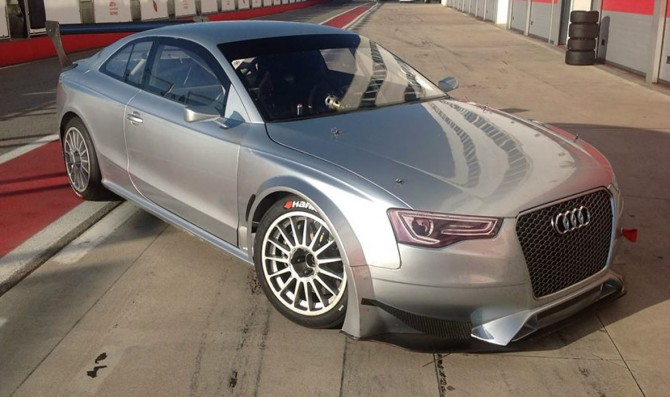 First test for 4th Audi Sport Italia-built RS5