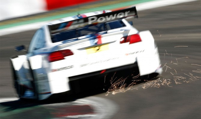 New Bmw M4 DTM hit the track in Spain