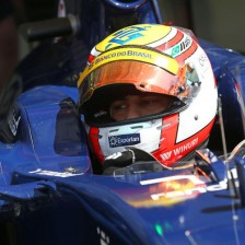 Nasr test and reserve driver for Williams