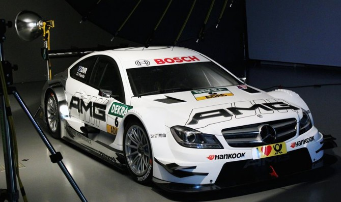 Mercedes unveils Di Resta's C-Coupe livery