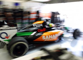 Sergio Perez, Sahara Force India VJM07 Mercedes