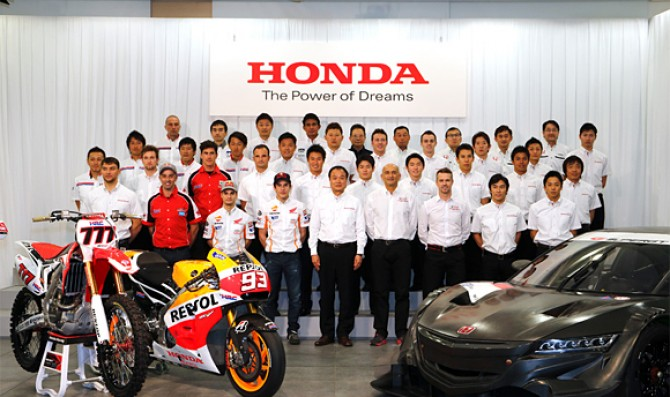 Honda announced its 2014 strategy