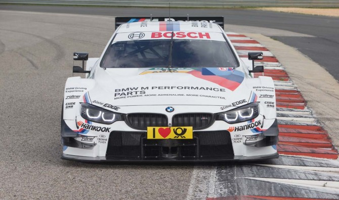 Bmw reveals new M4 DTM car