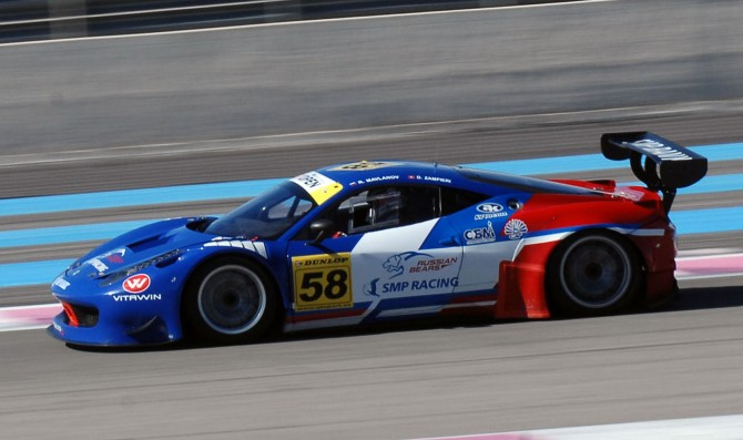 SMP Racing Ferraris dominate Race 1