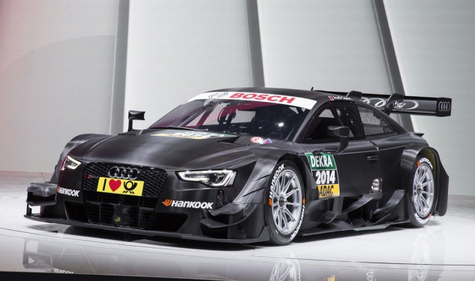 Audi reveals new RS5 DTM car