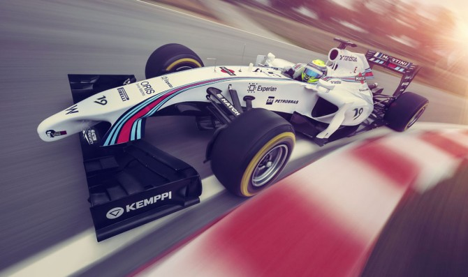 Williams unveils FW36 Martini livery