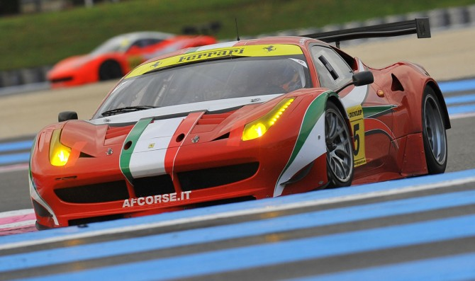 AF Corse enters four Ferrari 458 GT3s