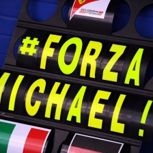 Small, encouraging signs for Schumacher