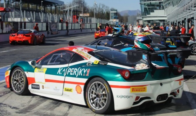 New 458 Evo makes its debut at Monza