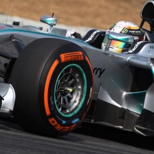 Mercedes top Friday practice