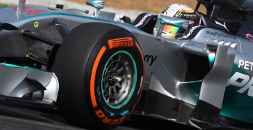 Three tyre compounds for collective test