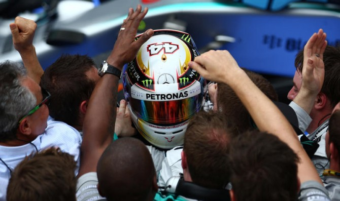 Hamilton, Rosberg secure Mercedes one-two