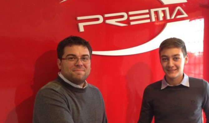 Prema signs Bosak and Russell