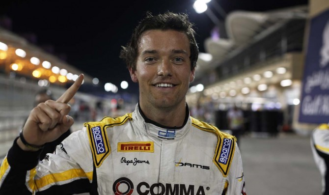 Palmer claims first pole position