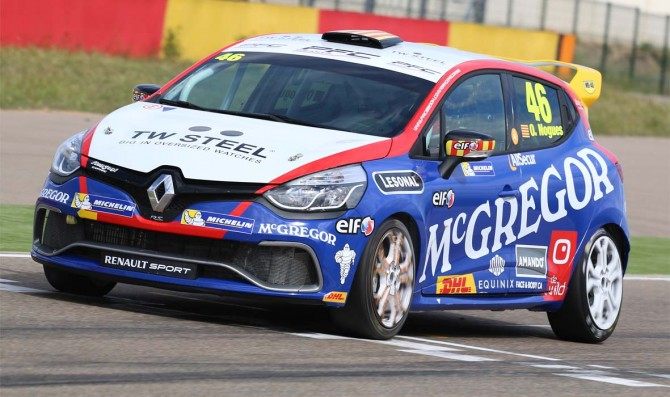 Nogues wins with Coronel's livery