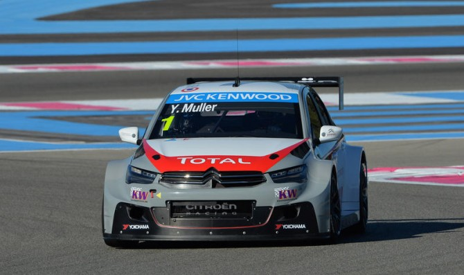 Muller takes pole after penalties
