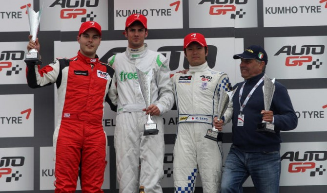 Giovesi takes his first Auto GP victory