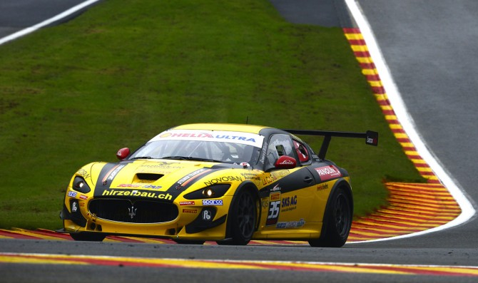 Calamia, Kuppens share the poles at Spa