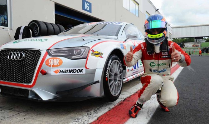 Kostka takes maiden EuroV8 Series pole