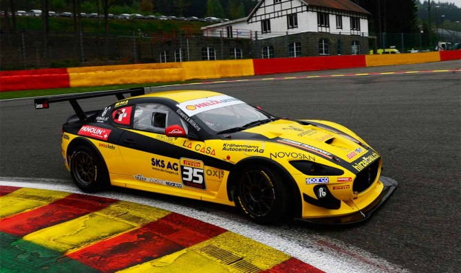 Swiss Team dominates at Spa