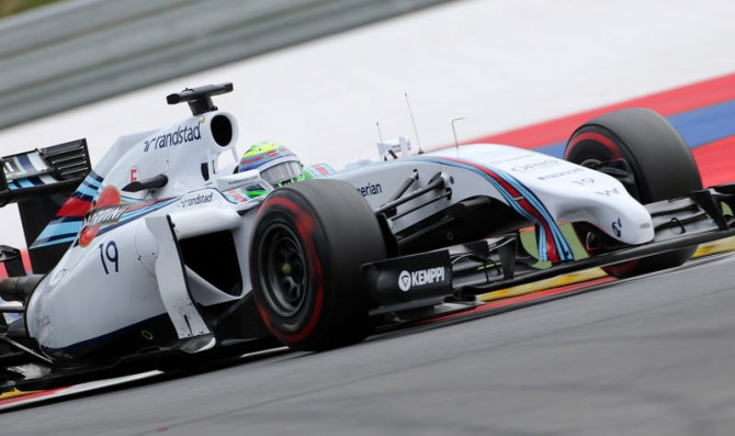 Williams lock out front row
