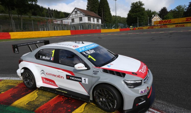 Muller, Lopez share wins at Spa