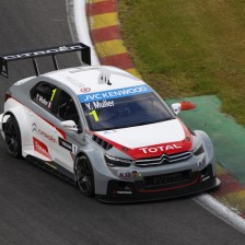 Muller secures third pole position