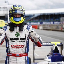 Eriksson takes first pole at Silverstone