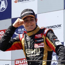Ocon wins first race in Moscow