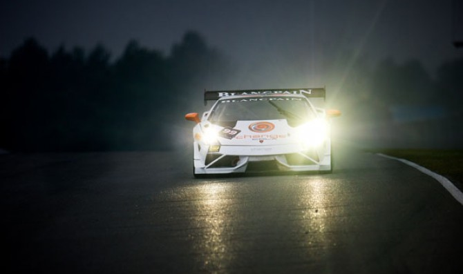 Gonzales wins in wet conditions