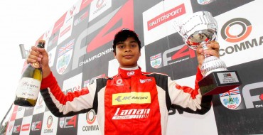 Calamia secures fifth win at Silverstone